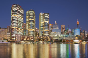 The Lendlease Barangaroo international office towers, Sydney have a platinum WiredScore rating.