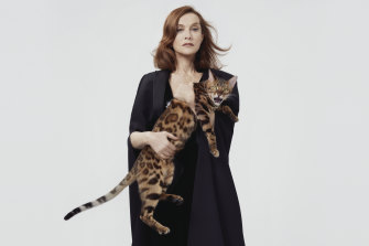 """Isabelle Huppert: """"I have never felt diminished or in danger. I don't think I've ever felt, 'Oh my god, I'm losing my soul, I'm losing my body.' Never. I've always felt these things have been preserved."""""""