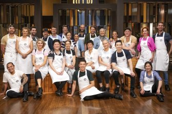 Familiar faces: While the judges may be new, the MasterChef contestants are not.