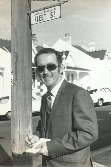 Joe Payne in a more suburban Fleet Street.