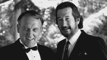 John Sheerin, left, and Michael Caton in <i>Chances</i>.
