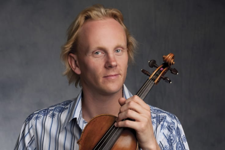Dale Bartltrop  made a dazzling entry in the last movement of Beethoven's String Quartet No 1 .