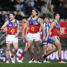 Lions hop to it and hold off the gallant Kangaroos