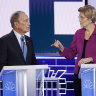 Rivals blast 'arrogant billionaire' Bloomberg in fiery debate