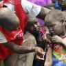 Millions of kids miss measles shot: UNICEF