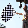 It's back: Waving the chequered flag to return to Formula One