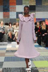 Jordan Dalah opens Australian Fashion Week with his ready-to-wear collection.