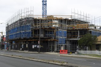 A stop-work order has been placed on 319 Liverpool Road in Strathfield after serious structural defects were found.