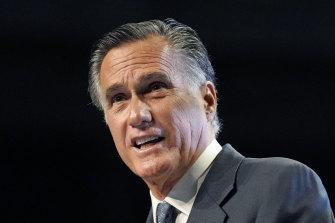 Senator Mitt Romney was booed as he addressed the Utah GOP convention.
