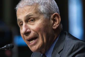 Dr Anthony Fauci has cautioned that the booster shot is not yet needed.