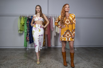 Alice McCall (right) has appointed administrators for her 16-year-old business.