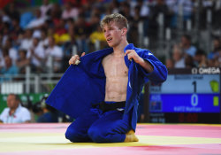 Nathan Katz competed in judo at the Rio Olympics.