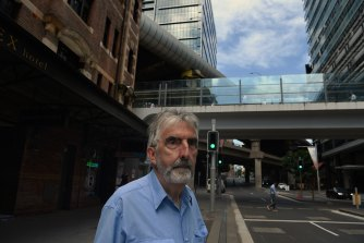Bill Lloyd, 69, has owned his terrace in the same building as the Sussex Hotel, next to Wynyard Walk, since 1992.