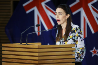 """It is more than likely there will be additional cases"": Prime Minister Jacinda Ardern speaks to media on February 28 in Wellington."