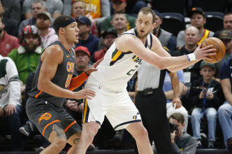 Joe Ingles might not take part in the resumed NBA season, which is likely to take place at Disney World.