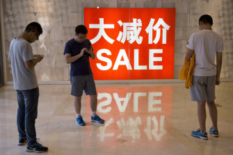Consumer spending in China has not caught up to pre-pandemic levels.