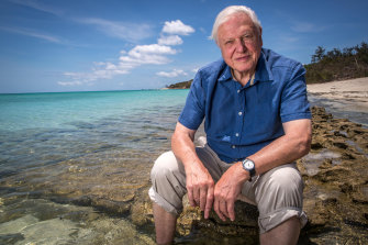 Sir David Attenborough sent a BBC crew to Flinders a few years ago to film the weedy sea dragon.