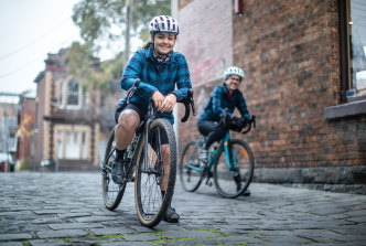 Amy Thompson (left) and Jess McClelland plan to take part in the 2020 Melburn Roobaix when restrictions ease.