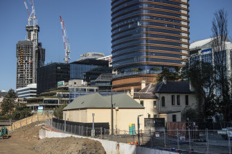 The removal of Willow Grove to make way for the Powerhouse Museum can now begin in Parramatta.