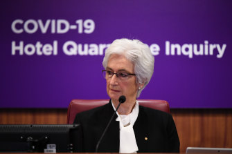 Retired judge Jennifer Coate will hand down the hotel quarantine inquiry's final report by December 21.