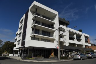 The Quattro Apartments building in Gymea.