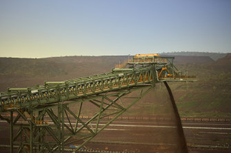 Iron ore futures have improved.