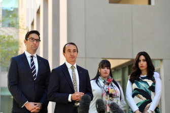 Liberal MP Dave Sharma has advocated for the case since ending his stint as ambassador to Israel in 2017.