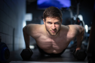 """Forest Nash, a natural bodybuilding champion and fitness trainer, disputes the idea that the more meat men eat, the more """"masculine"""" they are."""