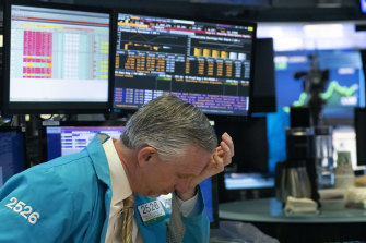Trading on the New York Stock Exchange was temporarily halted for the fourth time in two weeks.