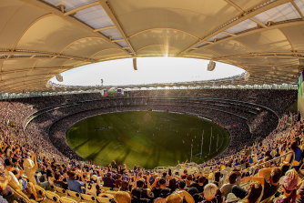 Perth has been named host of the AFL grand final, should Victoria decide the MCG is unable.