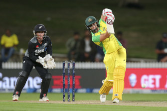 Ashleigh Gardner led the way for Australia in their win over New Zealand.
