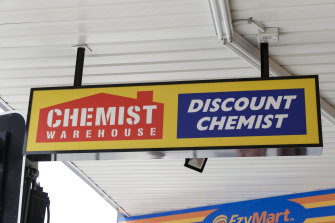 Spotlight Group and Chemist Warehouse's 24 stores account for 7.8 per cent of HomeCo's gross leasing income.