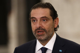 Saad Hariri had quit as PM nearly a year ago as protests gripped Lebanon.