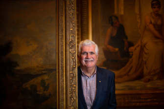 Brian Martin has felt a sense of loss during the NGV's closure.