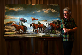 They were as good as their rider in battle, determined and single-minded, Geoff Harvey says of the NSW bred horses.