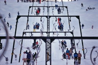 Social distancing measures mean skiers and snowboarders may encounter longer than usual queues for ski lifts.