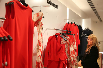 Margarita Marambio, a long-time sales manager for Carla Zampatti, said customers were out in force marking the designer's death.