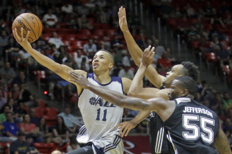 Dante Exum has averaged five points a game for the Cavs since moving from Utah.