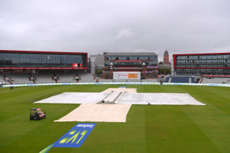 The fifth Test was abandoned before it could begin.