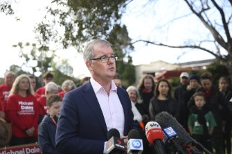 Former NSW Labor leader Michael Daley says he made mistakes but will never repeat them.