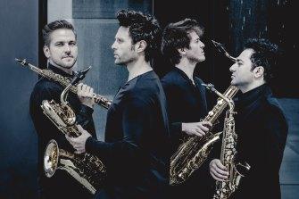 Signum Saxophone Quartet will perform in Musica Viva's 2022 program.