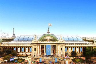 The Grand Palais will host fencing andTaekwondo.