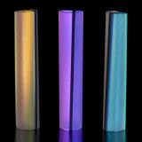 Donald Friedlich, Lumina Series Brooches, borosilicate glass, dichroic glass, 14K gold