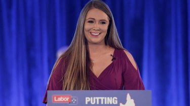 Labor candidate for Gaven Meaghan Scanlon.