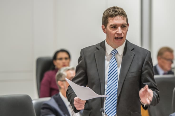 Opposition leader Alistair Coe has promised to abolish payroll tax if elected in 2020.