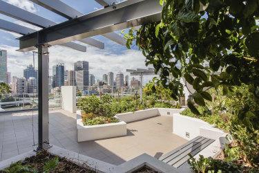 The rooftop of the Queensland development.