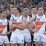 How much damage does an 89-point grand final loss do the Giants?
