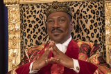 Eddie Murphy as Akeem Joffer in Coming 2 America.