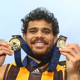 Cyril's advice for his Eagles cousin Willie for big game