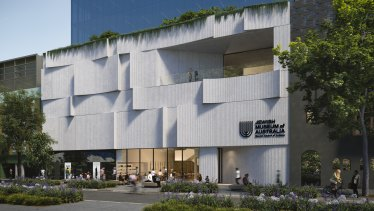 An artist's impression of the proposed Jewish Arts Quarter in Elsternwick.